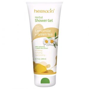 SHOWER GEL KAMILLE + GRUNER TEE HERBACIN